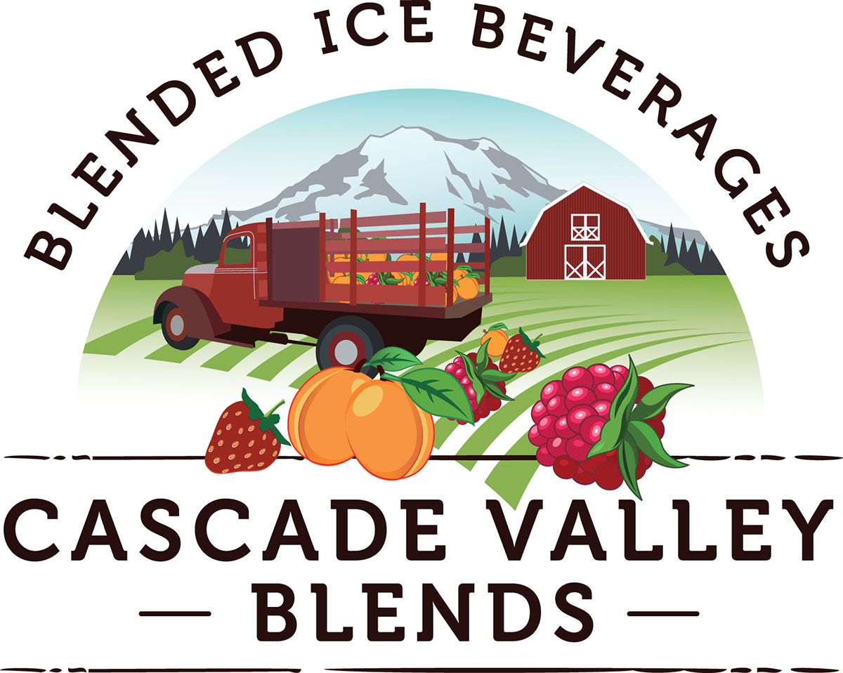Cascade Valley Blends Premium Smoothie Puree Mixes